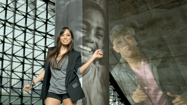 Anitta também canta o tema funk da campanha 2013 do Criança Esperança (Foto: Globo)