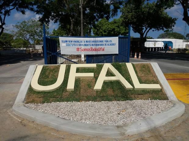Universidade Federal de Alagoas (Foto: Suely Melo/G1)