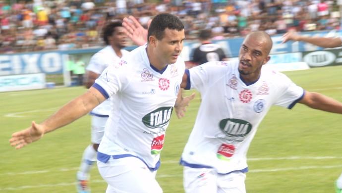 Nonato - atacante do Goianésia (Foto: Divulgação / Goianésia E.C.)