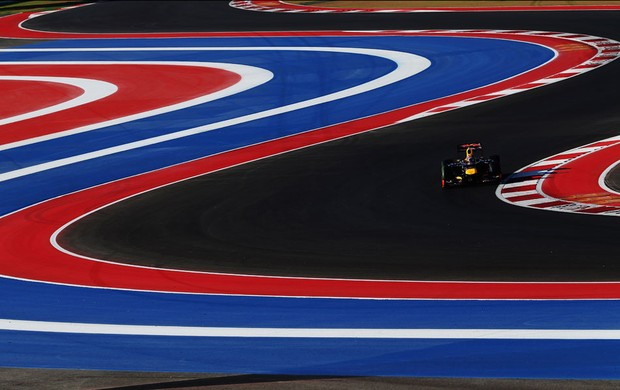 Sebastian Vettel RBR gp dos EUA (Foto: Agência Getty Images)