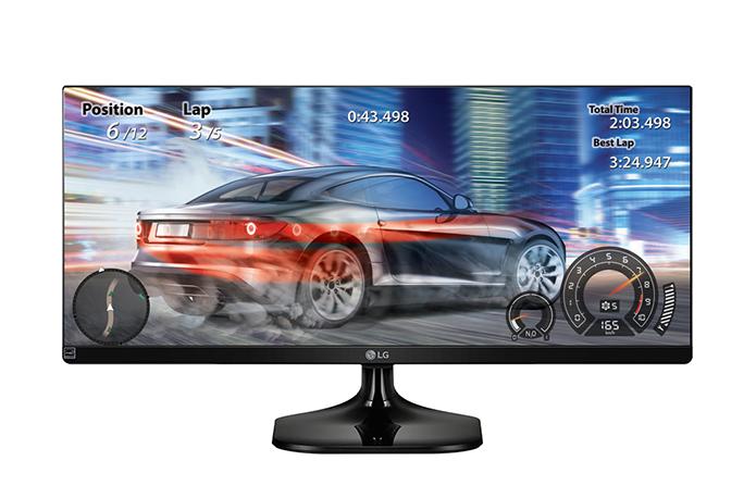 Aspecto de tela em 21:9 é o diferencial do monitor da LG (Foto: Divulgação/LG)
