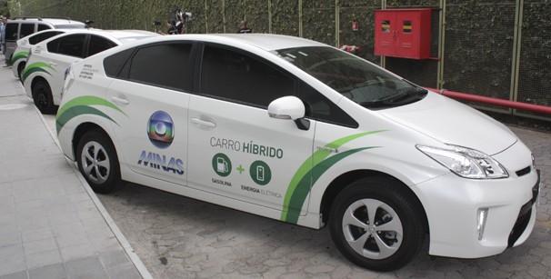Carros Híbridos (Foto: TV Globo Minas)