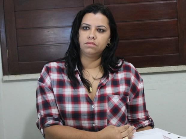 Delegada Sara Machado (Foto: Amanda Franco/ G1)