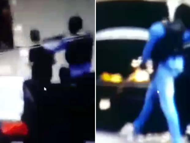 Bandidos fizeram refém e roubaram malotes de banco em Mogi Mirim (Foto: Arte G1)