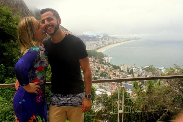 Matheus e Cacau (Foto: AgNews)