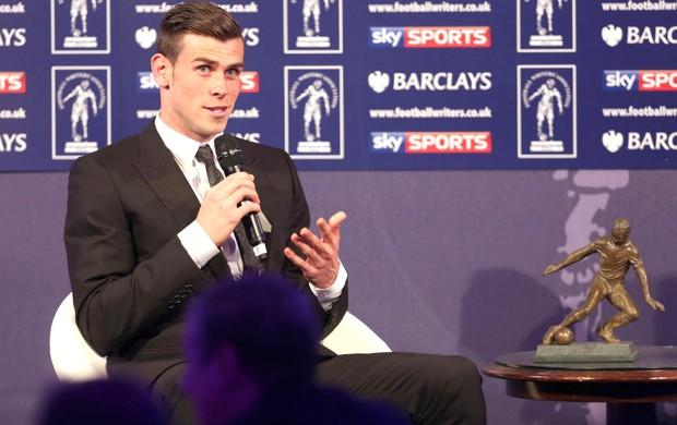 Gareth Bale jogador do ano Inglaterra (Foto: Reprodução / Facebook)