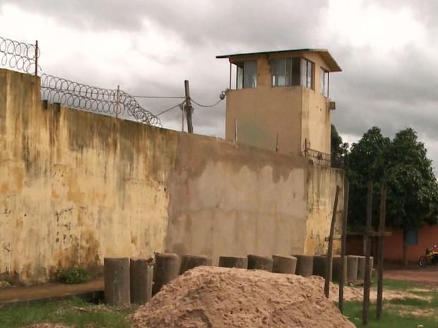 Falta de cerca facilitou fuga de presos de Pedrinhas (Foto: Reprodução/ TV Mirante)