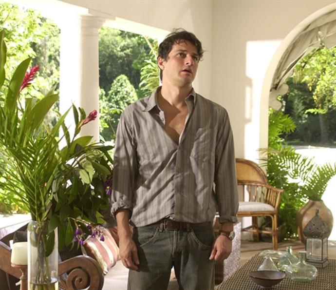 Em Sabor da Paixão, o ator interpretou Nelson (Foto: João Miguel Júnior/TV Globo)