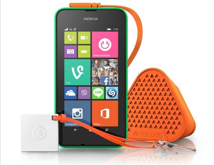Lumia 530 chega equipado com processador quad-core e Windows Phone 8.1 Cyan (Foto: Divulgação/Microsoft) (Foto: Lumia 530 chega equipado com processador quad-core e Windows Phone 8.1 Cyan (Foto: Divulgação/Microsoft))