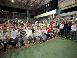 Bancários terminarma a greve (Foto: Manoel Porto/ Sindicato dos Bancários)