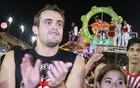 Grande Família arrasta 'globais' na folia (Frank Cunha/G1)