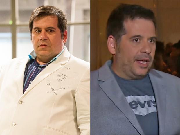 Veja Leandro Hassum antes e depois de sua cirurgia bariátrica (Foto: João Cotta / Vídeo Show / TV Globo)