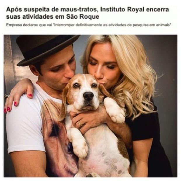 Giovanna Ewbank e Bruno Gagliasso (Foto: Instagram / Reprodução)