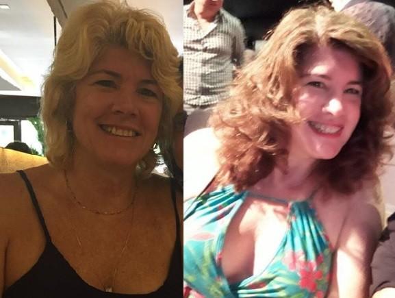Ines Galvão antes e depois da mudança de visual (Foto: Reprodução / Instagram)