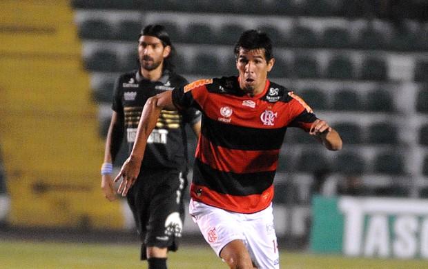 Cáceres Flamengo x Figueirense (Foto: Alexandre Vidal / Fla imagem)