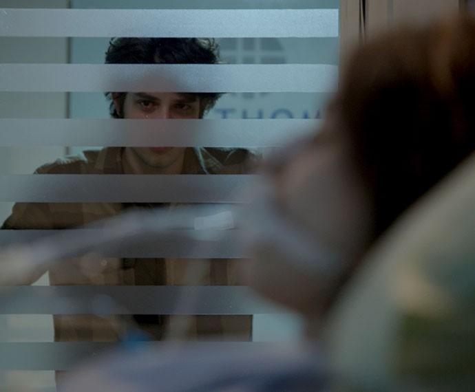 Ele sofre demais! Tadnho! (Foto: TV Globo)