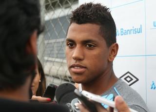 Pedro Rocha Grêmio (Foto: Eduardo Deconto/GloboEsporte.com)