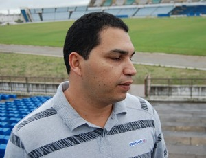 Ascanio Paceli, gerente administrativo do Amigão (Foto: Silas Batista / Globoesporte.com/pb)