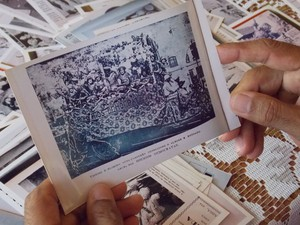 História do carnaval de Salvador (Foto: Ruan Melo/ G1)