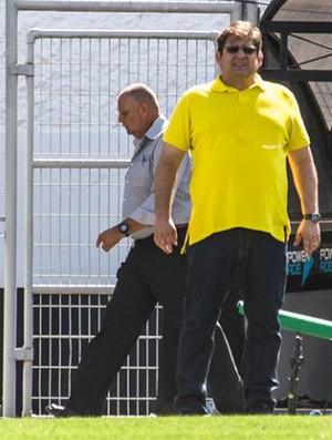 Guto Ferreira técnico Ponte Preta (Foto: Fábio Leoni / PontePress)