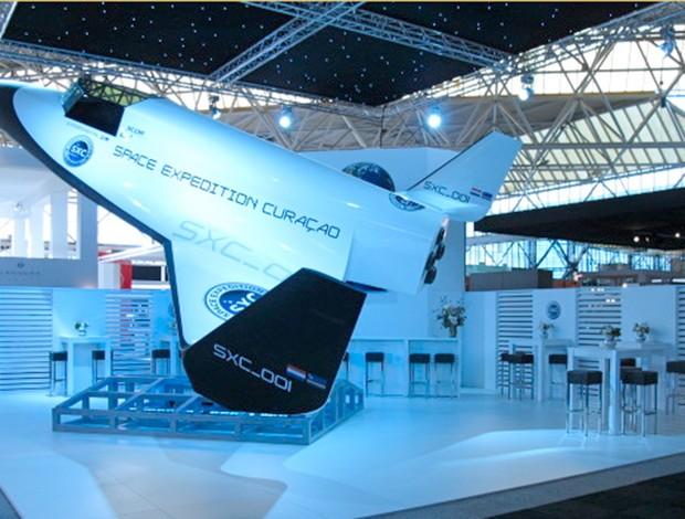Nave Espacial vôo Luigi Cani  (Foto: Divulgação / SpaceXC)