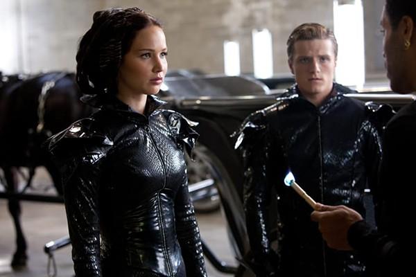 Jennifer Lawrence e Josh Hutcherson – 'Jogos Vorazes' (Foto: Divulgação)