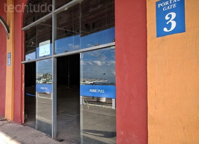 Pavilhão 3 deve receber YouTube Space, o segundo espaço do YouTube no Brasil. Além do Rio de Janeiro, há estúdios também em São Paulo (Foto: Melissa Cruz / TechTudo)