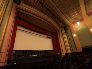 Salão do cinema com referências em art-déco. (Foto: Divulgação/Secult/Felipe Abud)