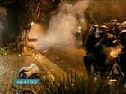 PM dispersa grupo acampado perto da casa de Michel Temer em SP