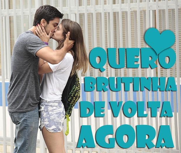 Quero BruTinha de volta AGORA! (Foto: Malhação / TV Globo)