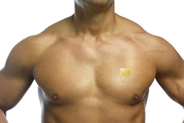 Computador é introduzido diretamente na pele, como um selo (Foto: Divulgação)