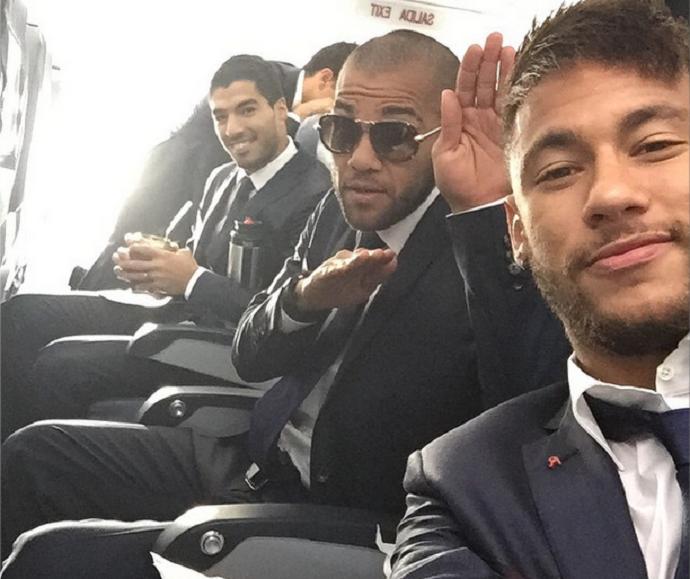 Luis Suárez Neymar Barcelona (Foto: Reprodução/Instagram)
