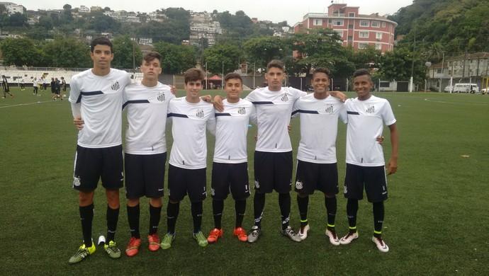 Santos sub-15 (Foto: Lucas Musetti)