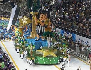 Desfile das Escolas de Samba de Vitória - Andaraí - 100 Anos do Rio Branco-ES (Foto: Bruno Faustino/TV Gazeta)