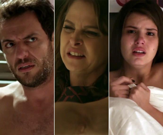 O que vai acontecer depois do flagra de Carolina? (Foto: TV Globo)