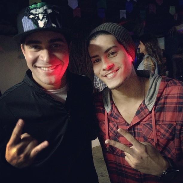 Thiago Martins e Arthur Aguiar (Foto: Instagram/ Reprodução)
