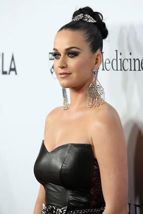 Katy Perry em evento beneficente em Los Angeles, nos Estados Unidos (Foto: Jesse Grant/ Getty Images/ AFP)