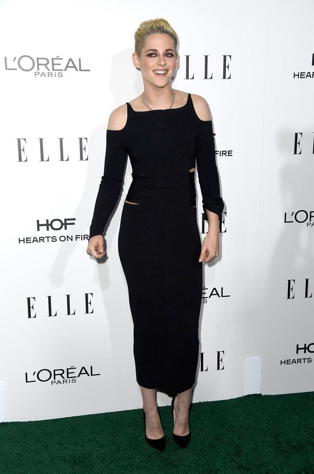 Kristen Stewart em prêmio em Los Angeles, nos Estados Unidos (Foto: Frazer Harrison/ Getty Images/ AFP)