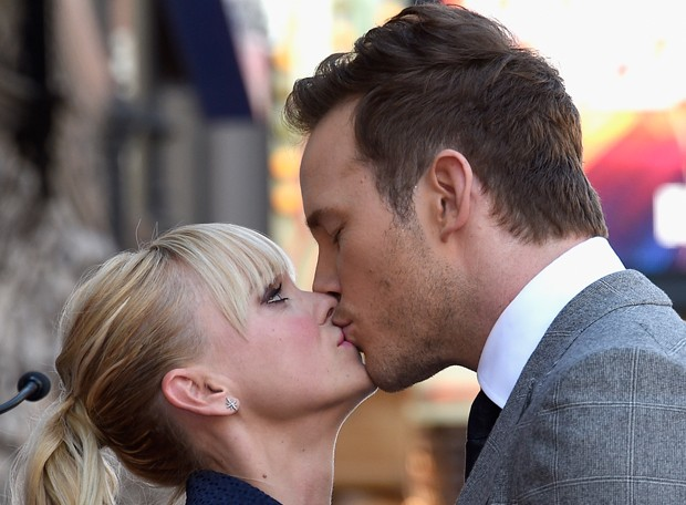 Anna Faris e Chris Pratt (Foto: Getty Images)
