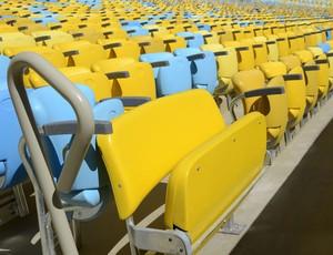 maracanã cadeiras (Foto: Divulgação)