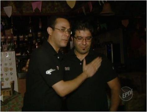 Amizade entre chefe e funcionário (Foto: Reprodução EPTV)