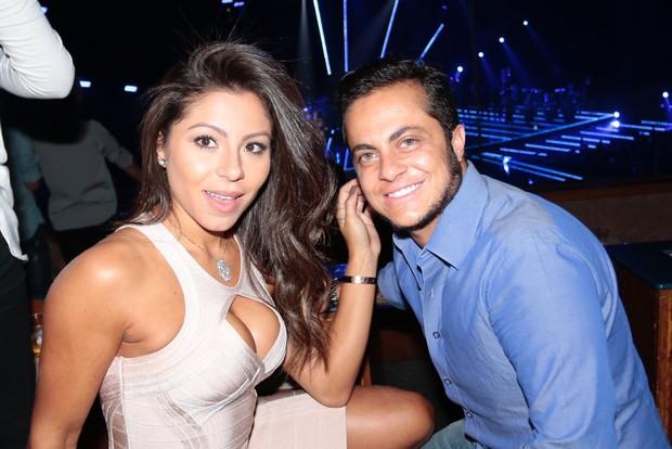 Andressa Ferreira e Thammy Miranda (Foto: Rafael Cusato/EGO)