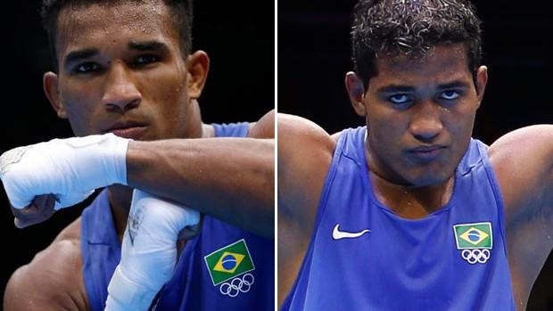 Esquiva Facão e Yamaguchi Falcão boxa (Foto: Montagem sobre foto da Reuters)