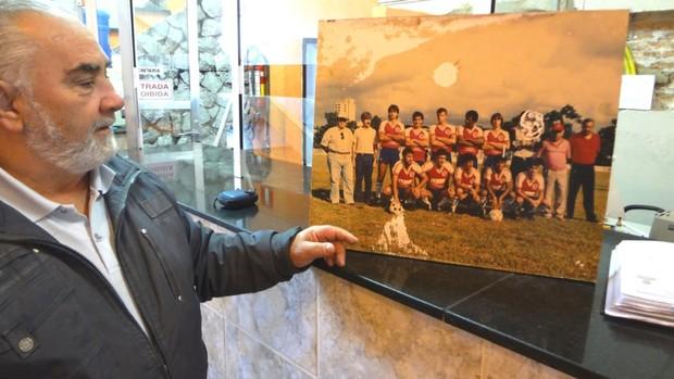 Odair Bedore presidente Grêmio Esportivo Atibaiaense Muricy Ramalho (Foto: Filipe Rodrigues)