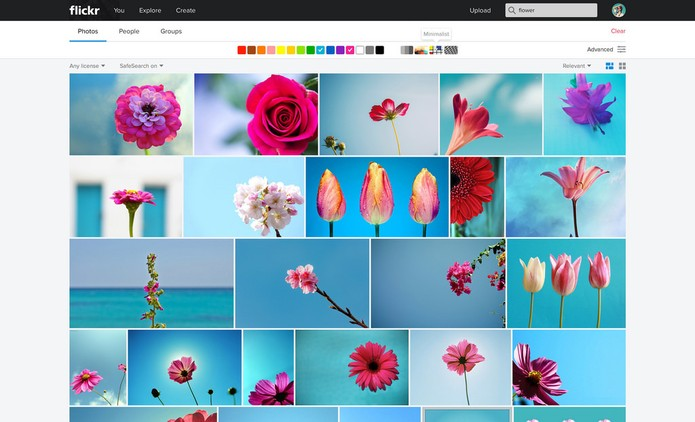 Flickr, pesquisa (Foto: Divulgação/Yahoo)