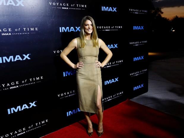 Ashley Greene em première de filme em Los Angeles, nos Estados Unidos (Foto: Patrick T. Fallon/ Reuters)