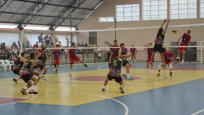 Jerns 2015 - Volei juvenil masculino - Colégio Equipe x Encanto (Foto: Jocaff Souza/GloboEsporte.com)
