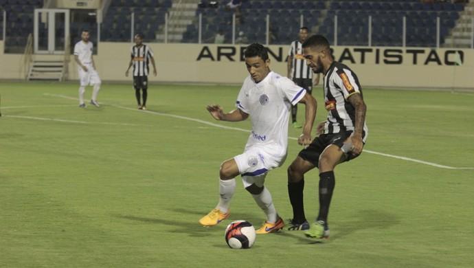 Rafael, meia do Confiança (Foto: Osmar Rios / GloboEsporte.com)