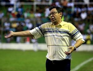 Lorival Santos, técnico do Coruripe (Foto: Ailton Cruz/ Gazeta de Alagoas)