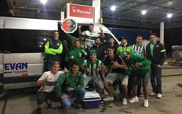Viagem para Chapecó, van - blogueiro Coritiba